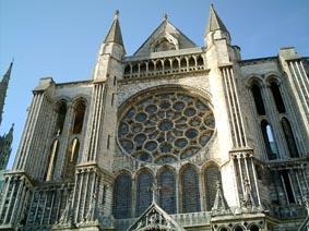 Rosace sud - cathédrale de Chartres